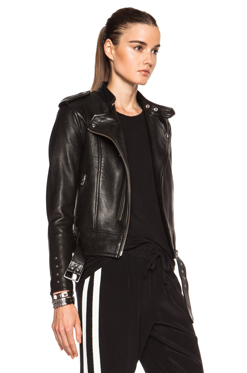 Leather jackets in fashion 92