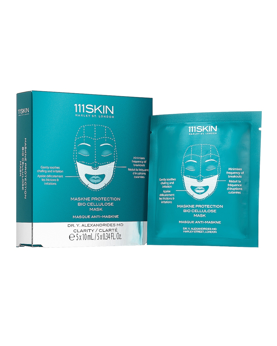 Image 1 of 111Skin Maskne Protection Bio Cellulose Mask 5 Pack in