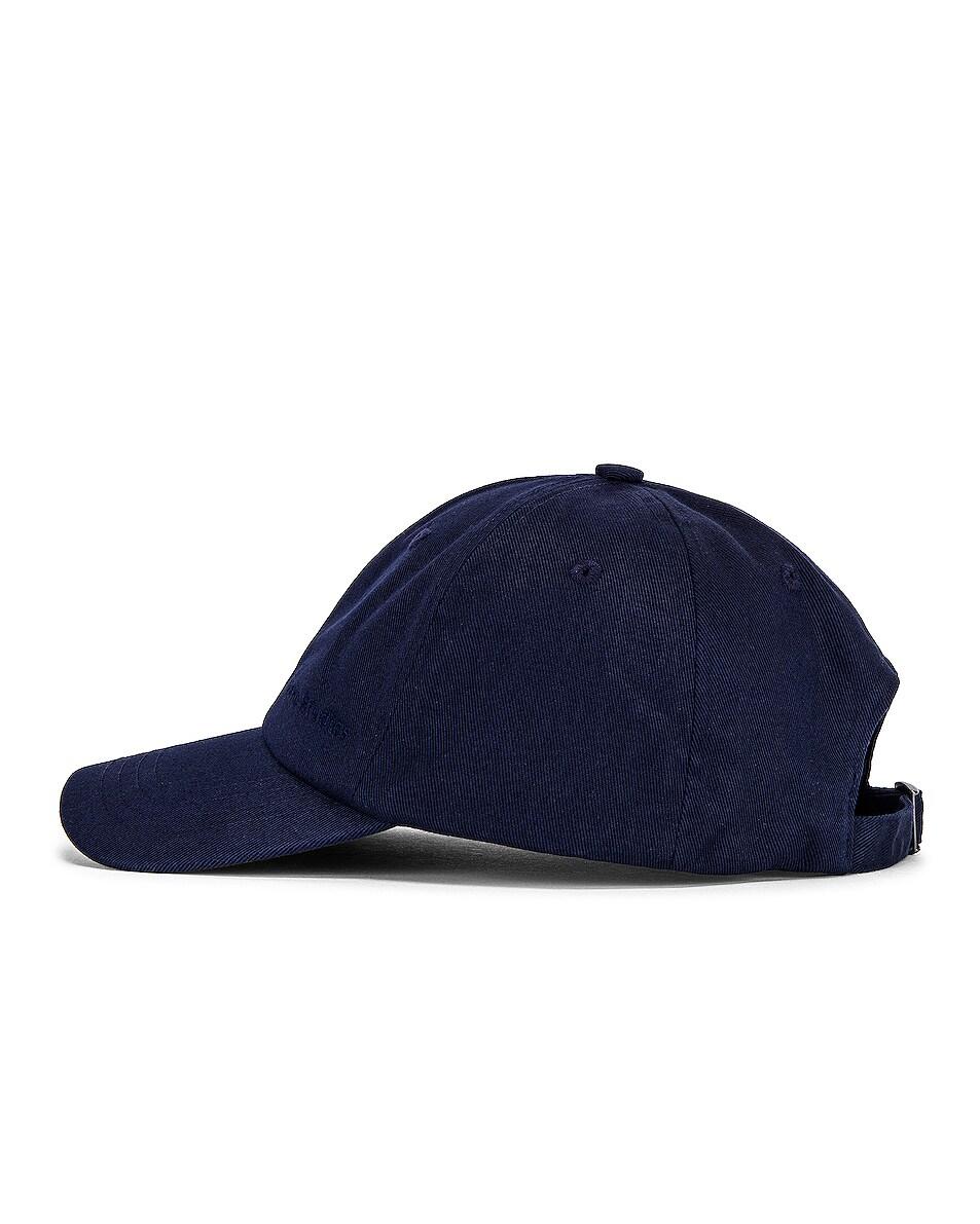 Image 3 of Acne Studios Carliy Hat in Navy Blue