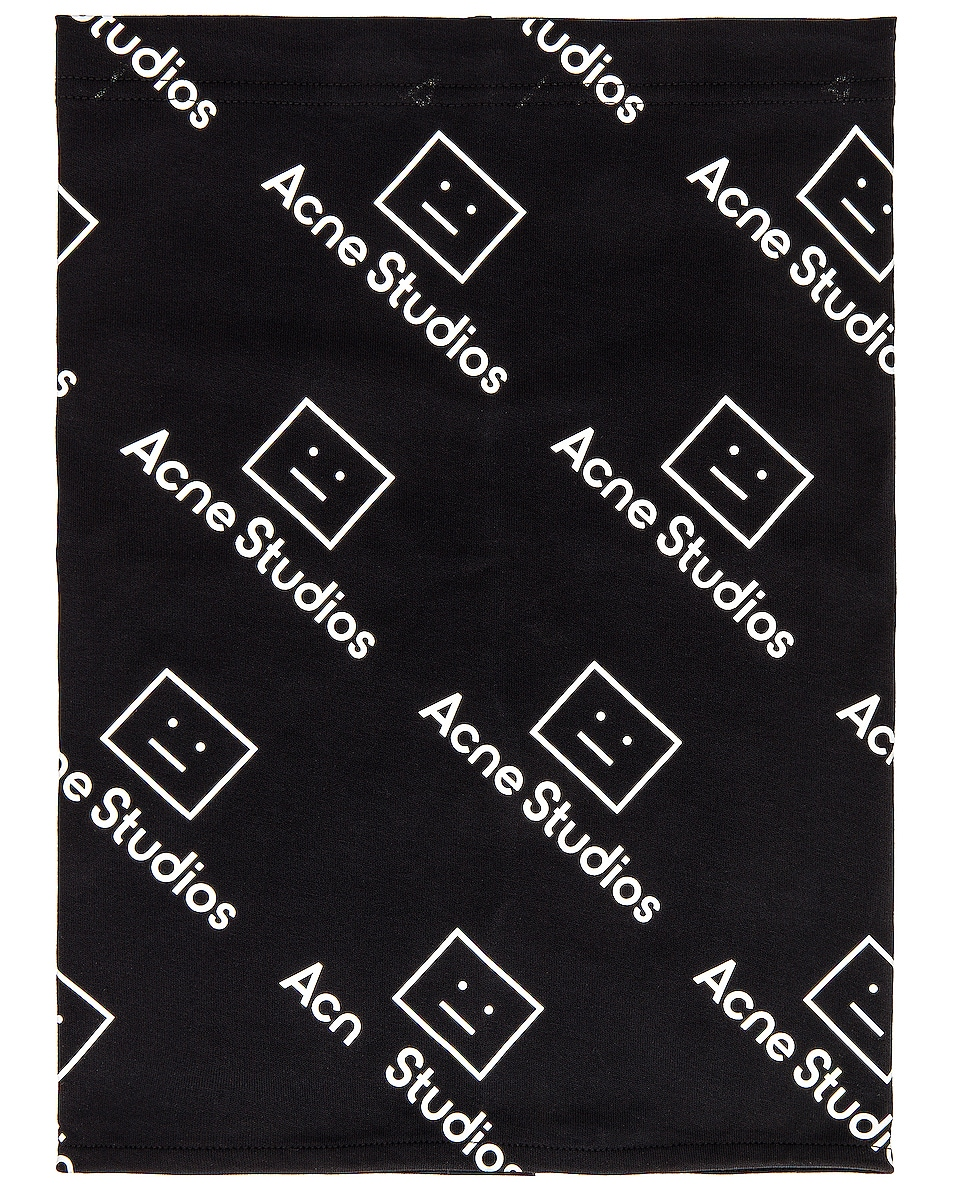 Image 1 of Acne Studios Bandana in Black