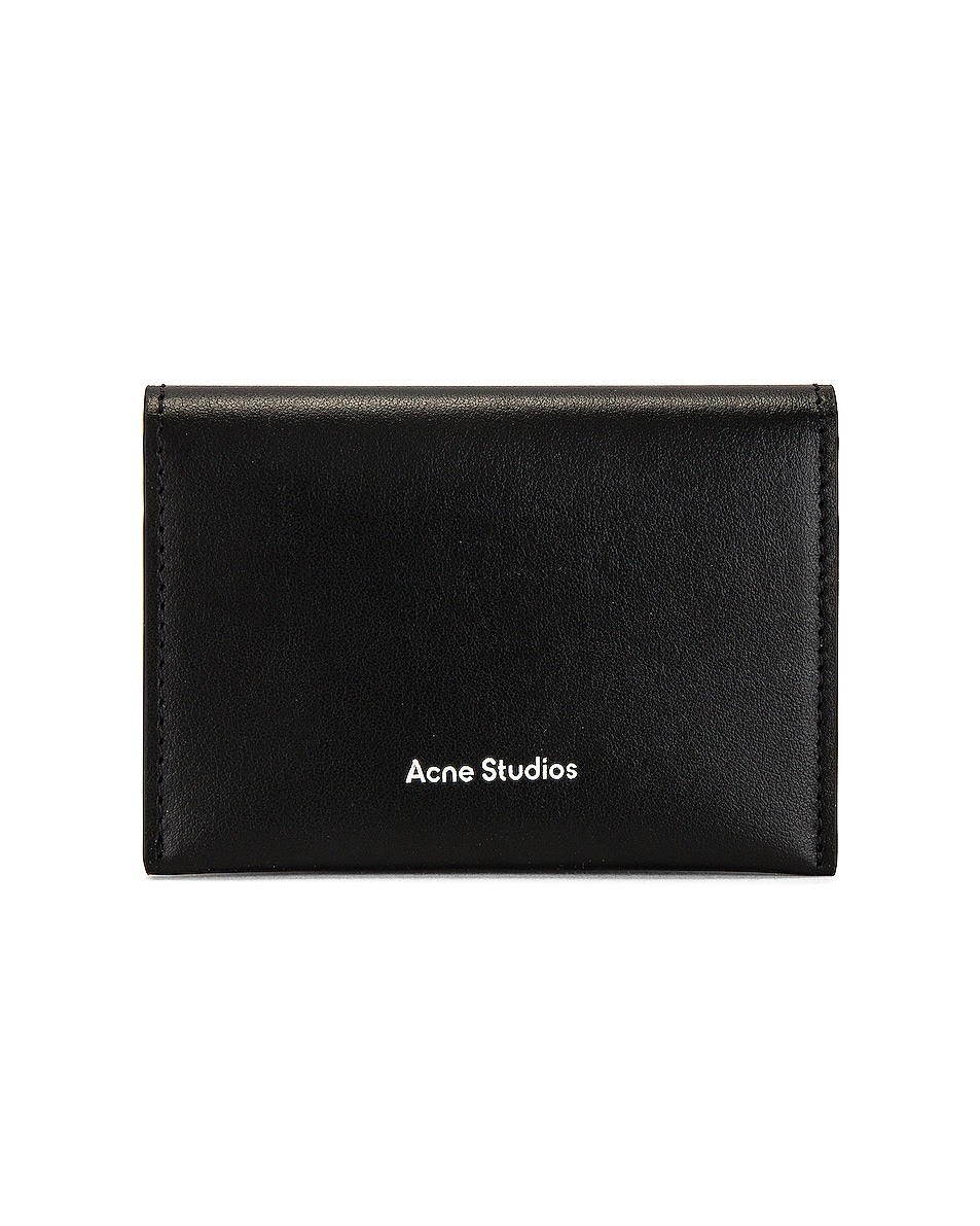 Image 1 of Acne Studios Card Holder Flap in Black