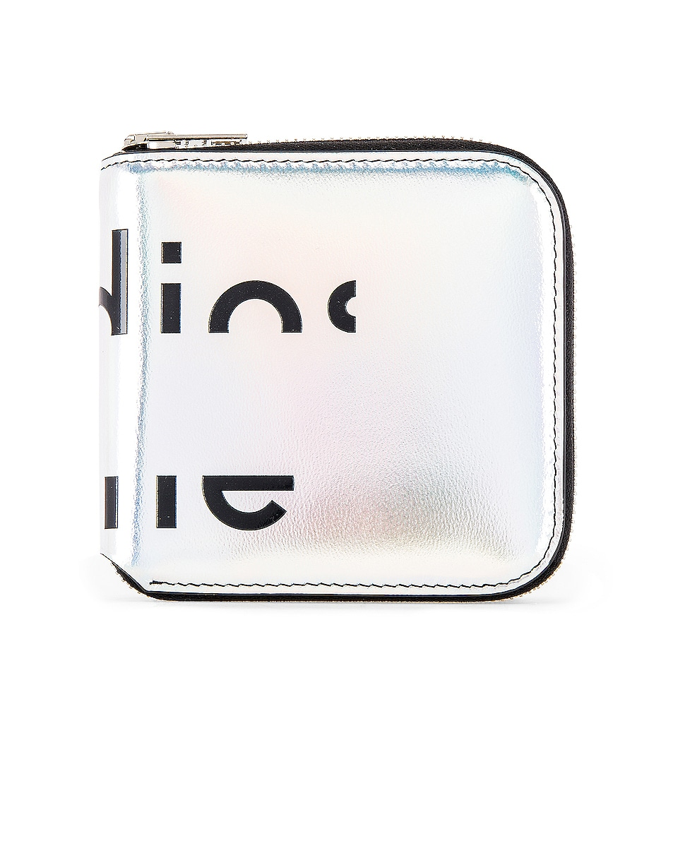 Image 1 of Acne Studios Csarite Wallet in Silver