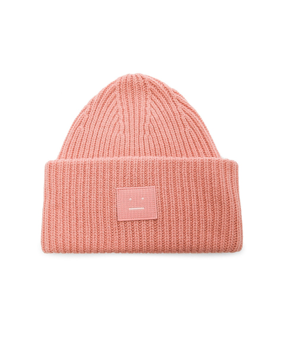 ad4316fa Image 1 of Acne Studios Pansy Face Beanie in Pale Pink