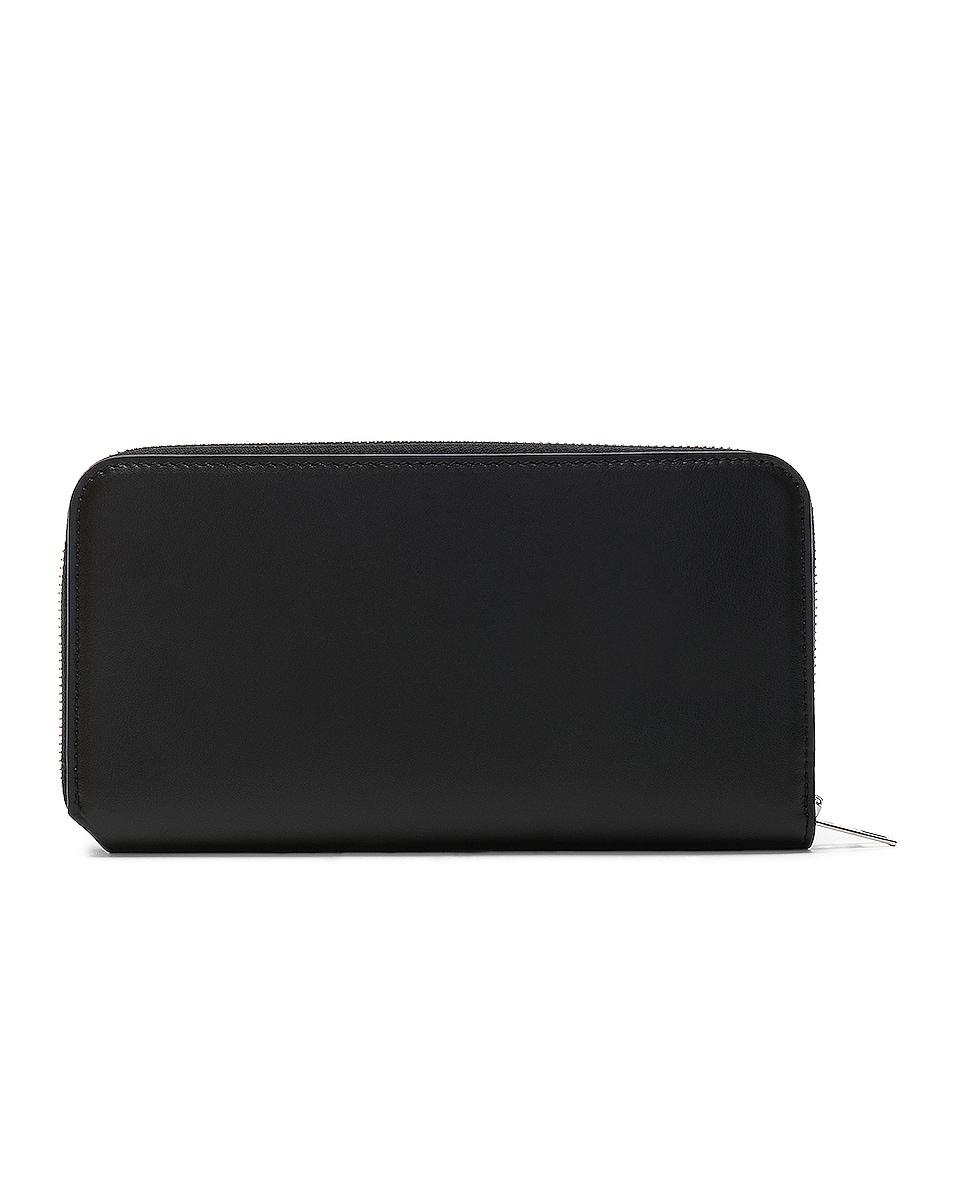 Image 2 of Acne Studios Fluorite Wallet in Black
