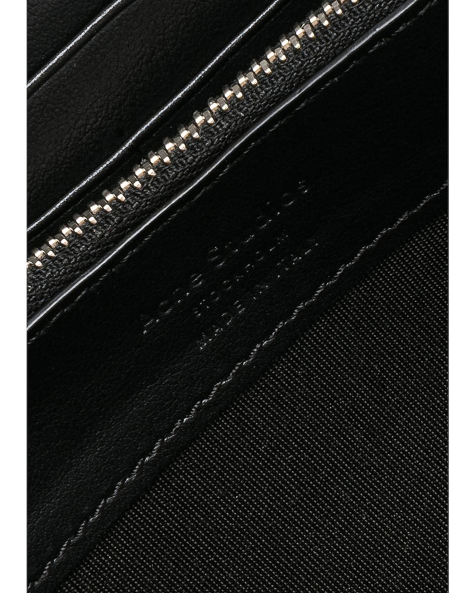 Image 5 of Acne Studios Fluorite Wallet in Black