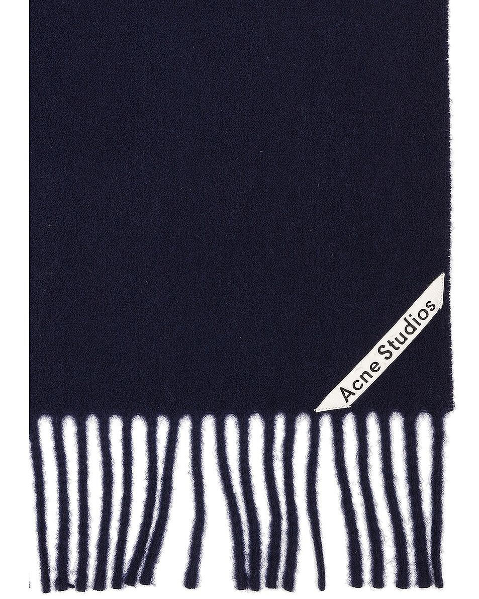Image 3 of Acne Studios Canada Scarf in Navy