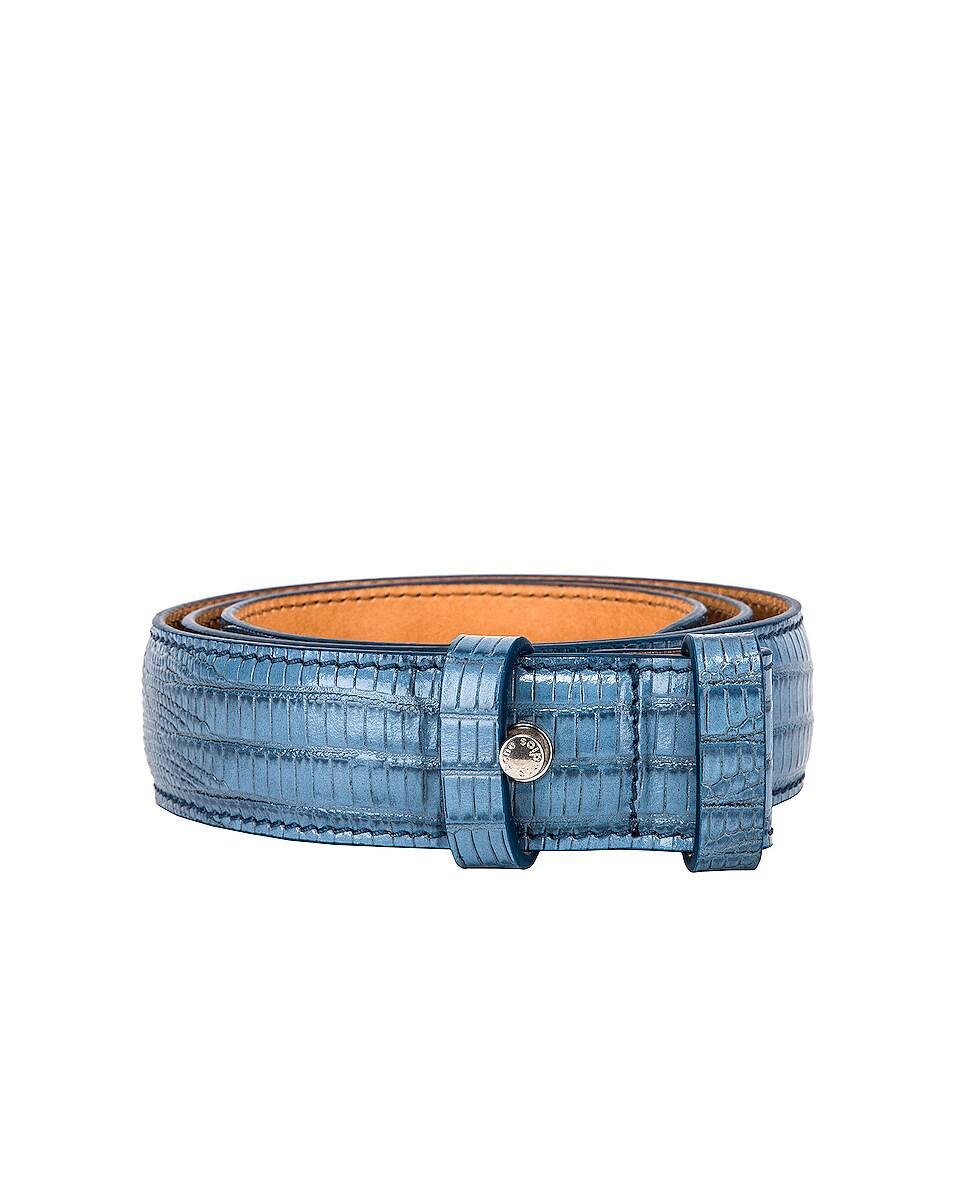 Image 1 of Acne Studios Anemone Belt in Light Blue