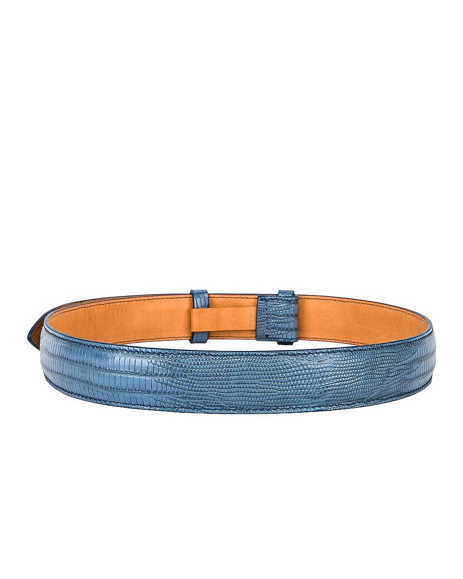 Image 3 of Acne Studios Anemone Belt in Light Blue