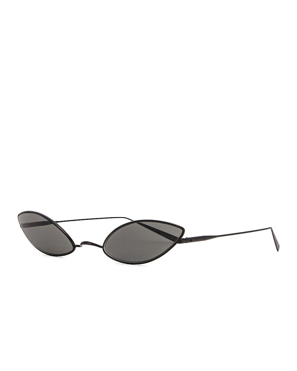 Image 2 of Acne Studios Astaria Sunglasses in Black