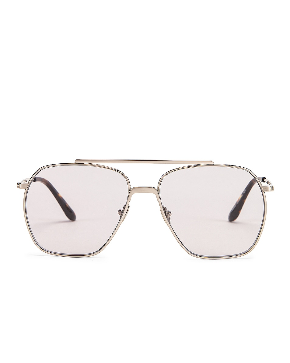 Image 1 of Acne Studios Anteom Sunglasses in Silver & Grey