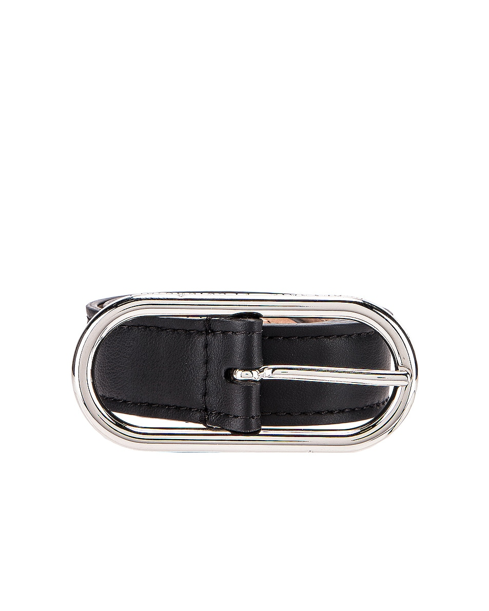 Image 1 of Acne Studios Thin Belt in Black