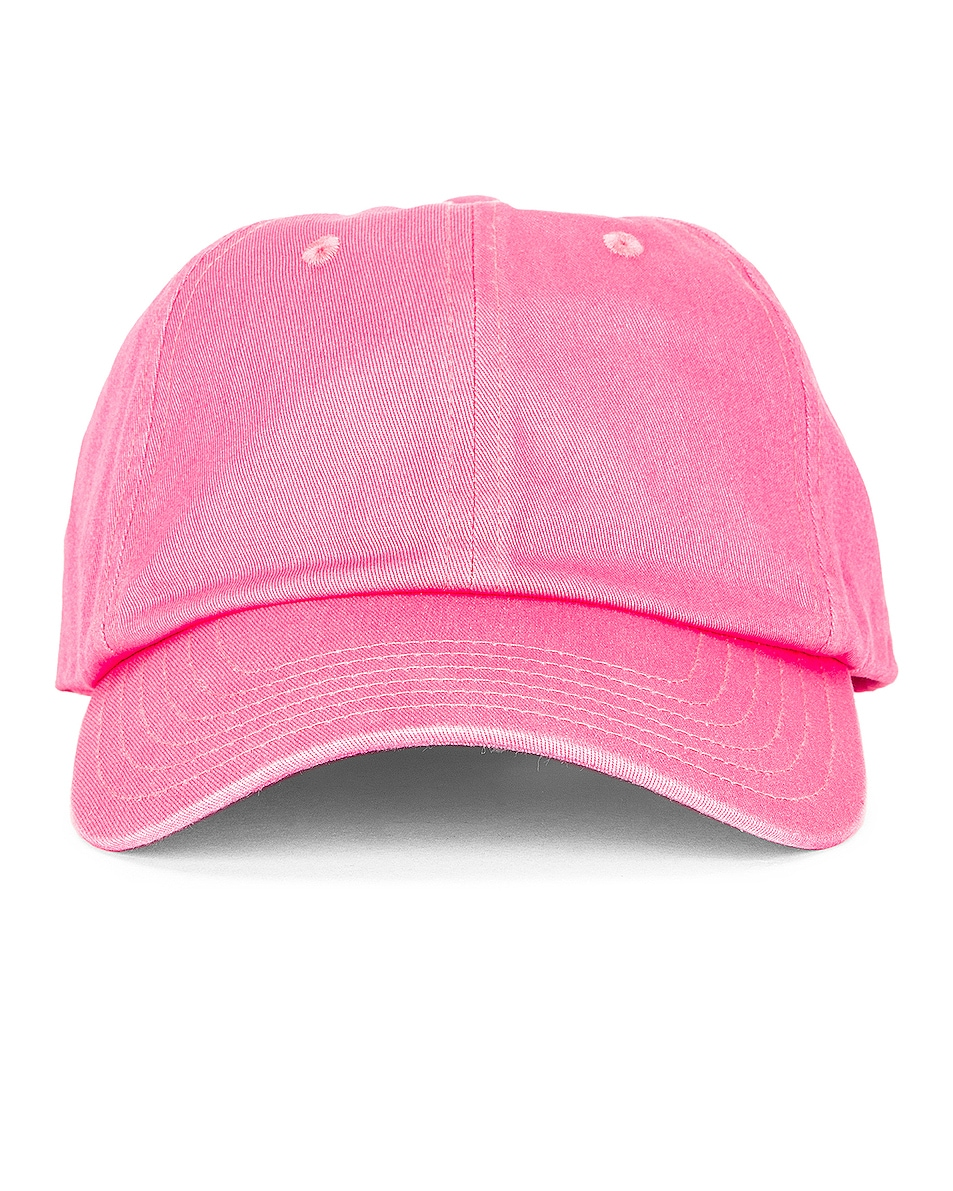 Image 1 of Acne Studios Cunov Patch Face Hat in Bubblegum Pink