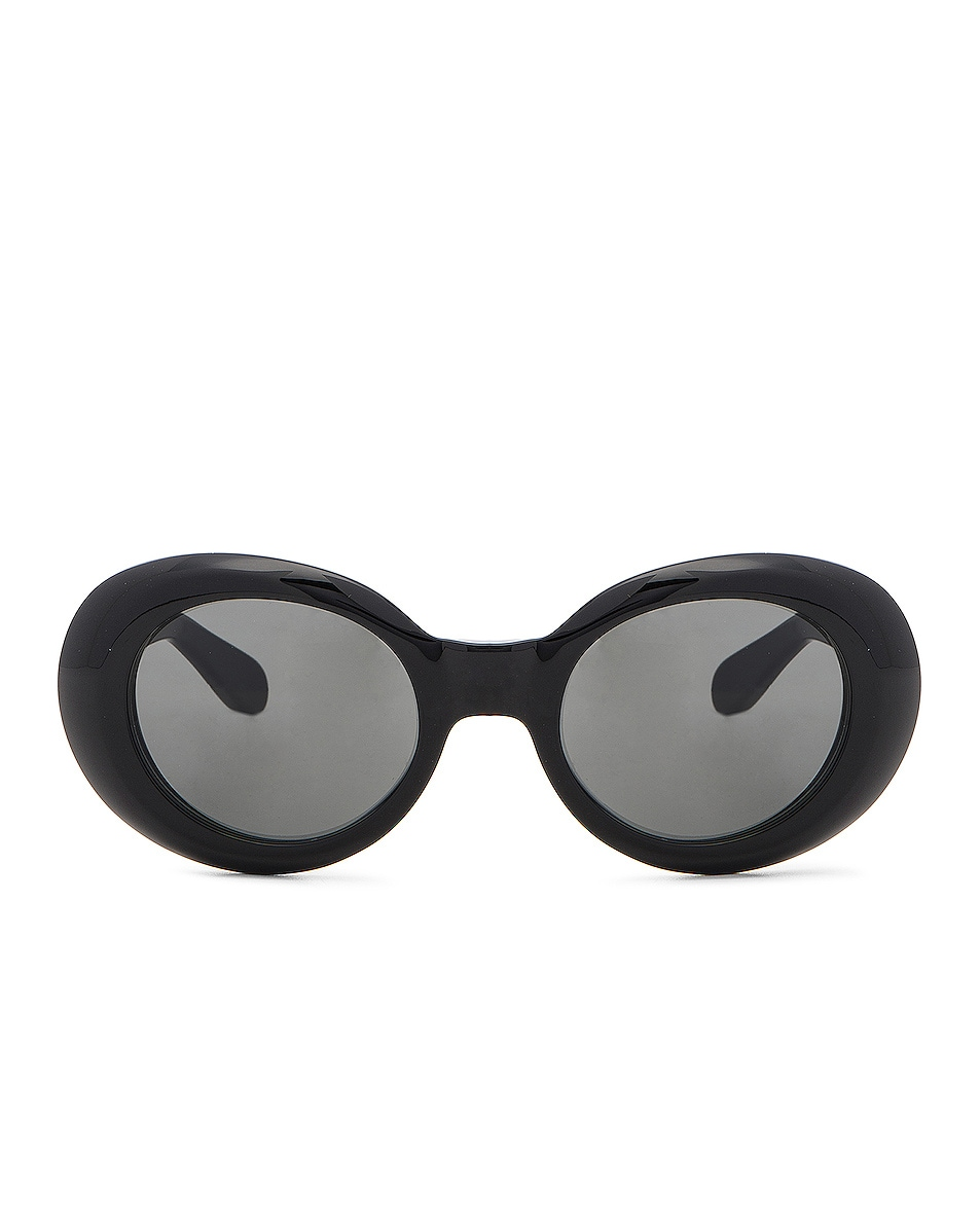 Image 1 of Acne Studios Mustang Sunglasses in Black