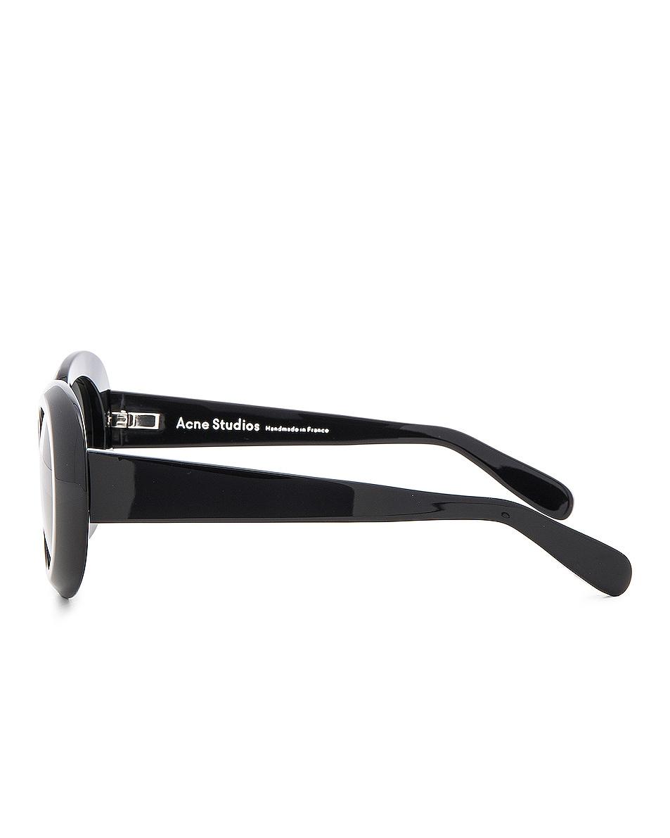 Acne Studios Mustang Sunglasses Black chic