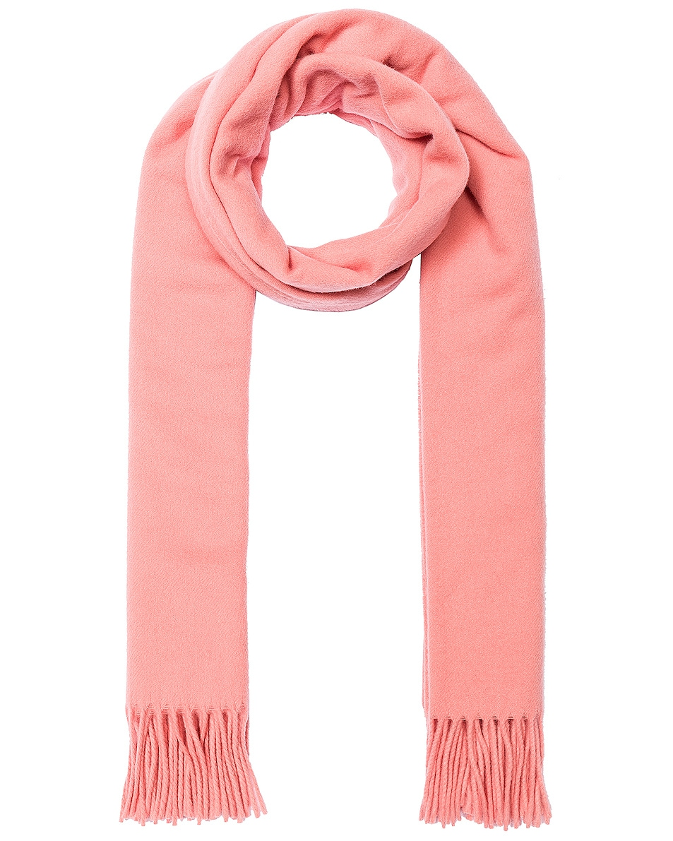 Image 1 of Acne Studios Canada Scarf in Pale Pink