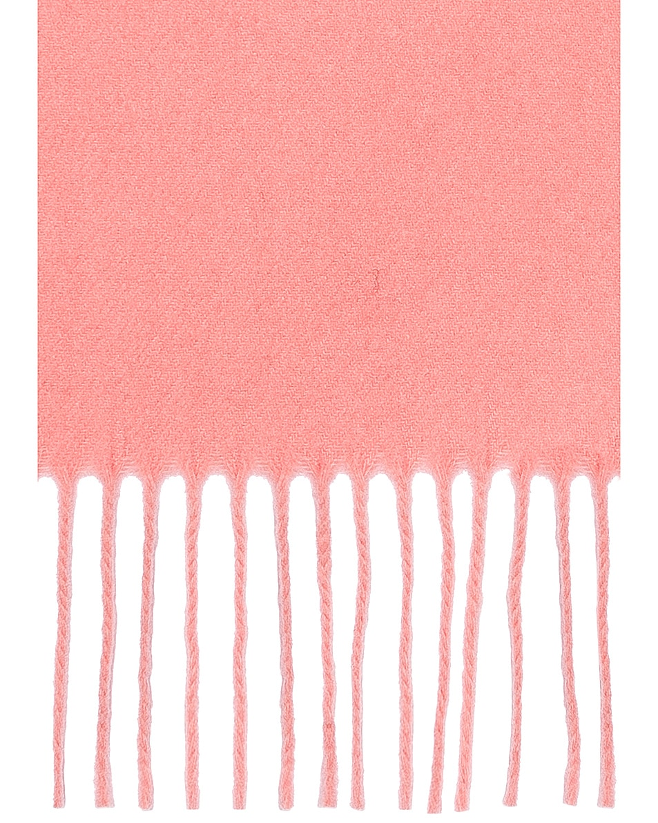 Image 3 of Acne Studios Canada Scarf in Pale Pink