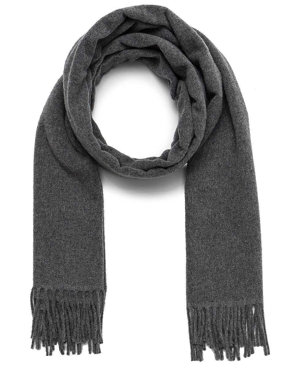 Image 1 of Acne Studios Canada Scarf in Grey Melange