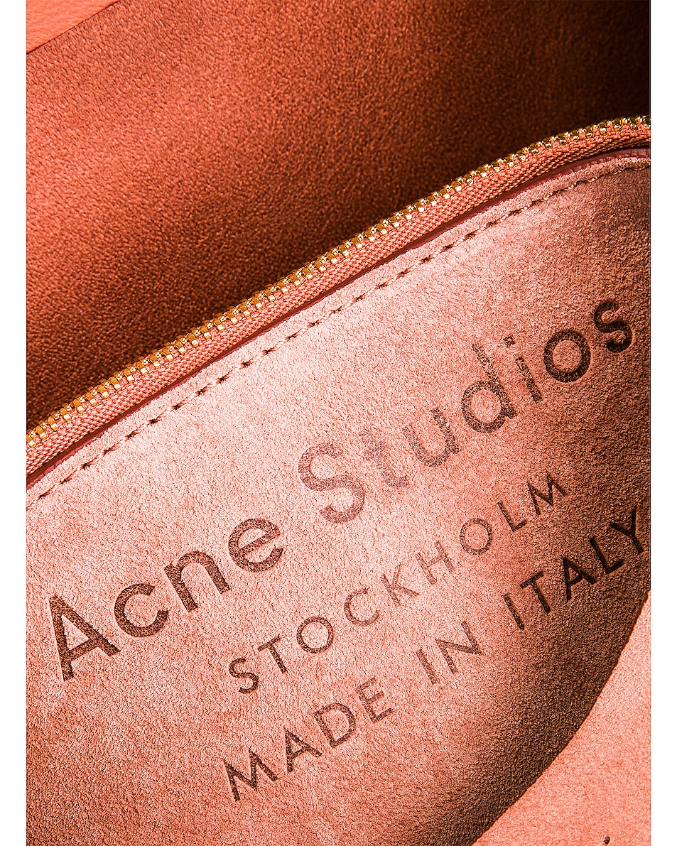 Image 7 of Acne Studios Musubi Mini Suede Bag in Pink