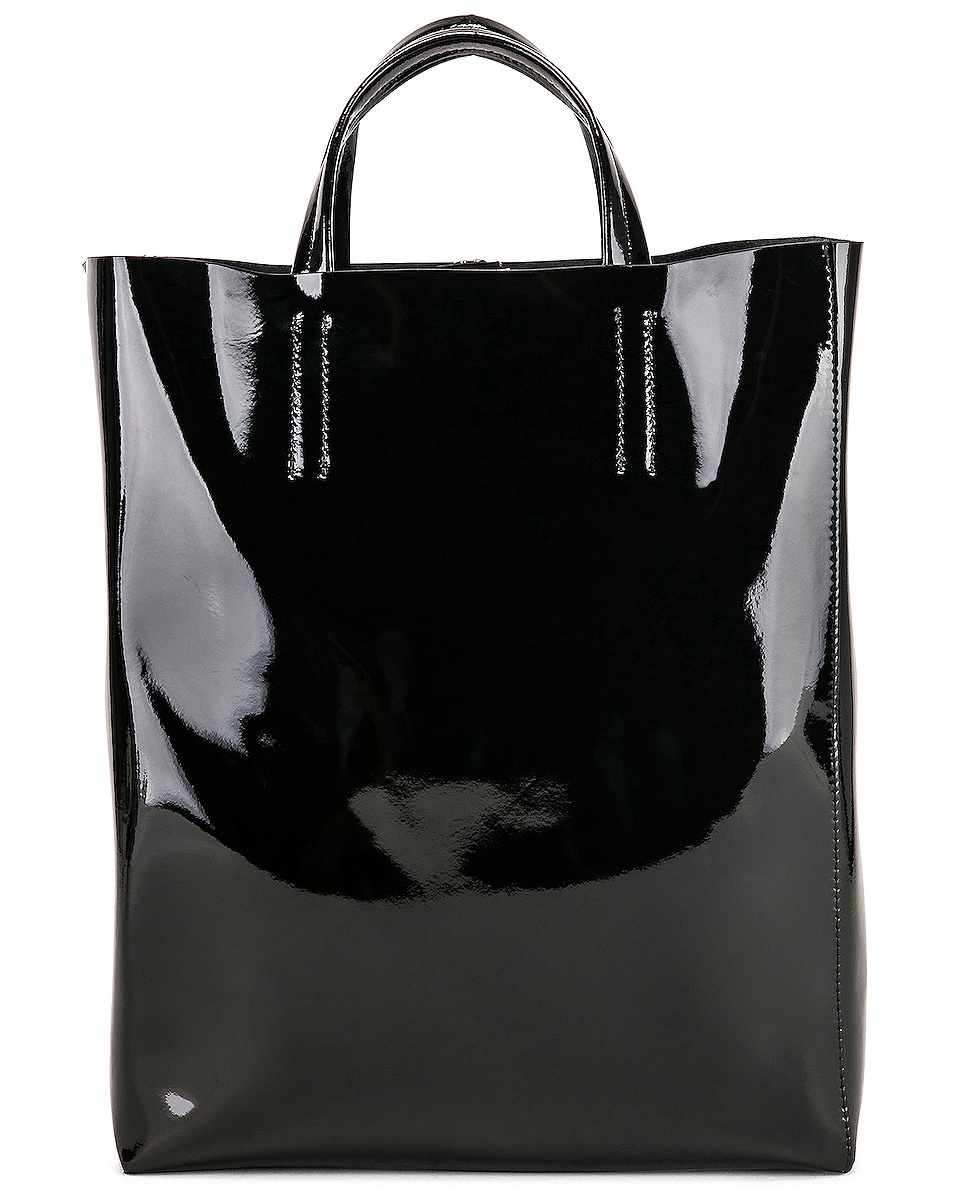 Image 3 of Acne Studios Baker Patent Bag in Black