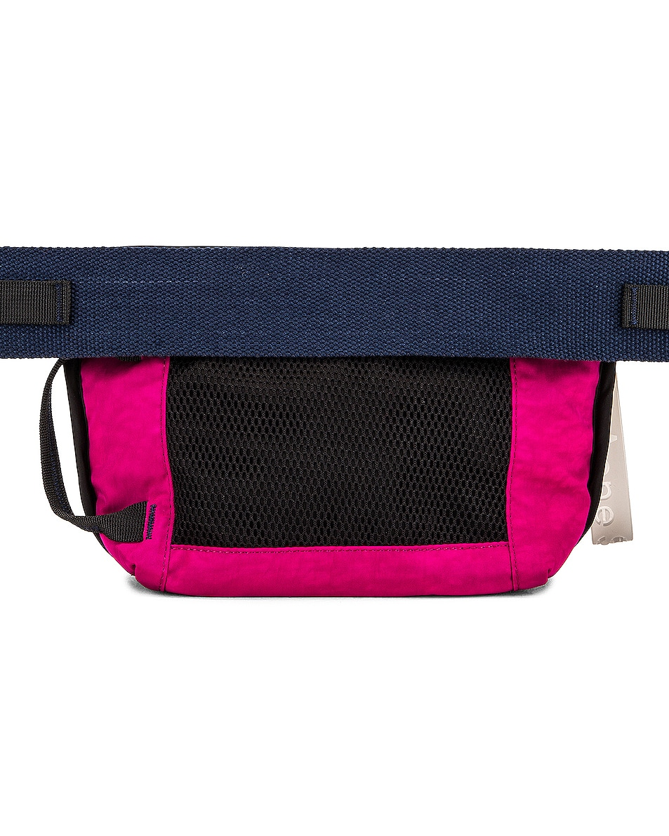 Image 3 of Acne Studios Abbey Bum Bag in Magenta Pink