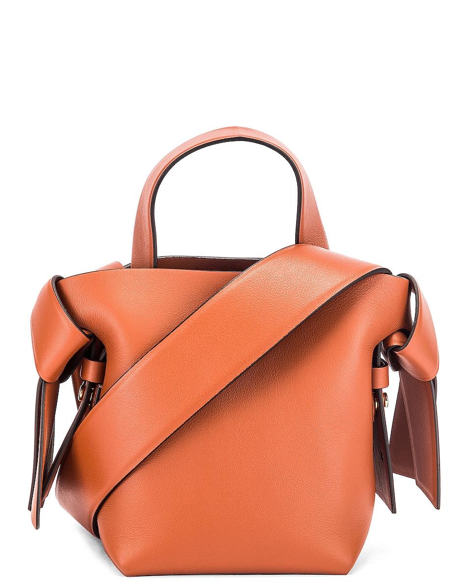Image 1 of Acne Studios Micro Bucket Bag in Almond Brown