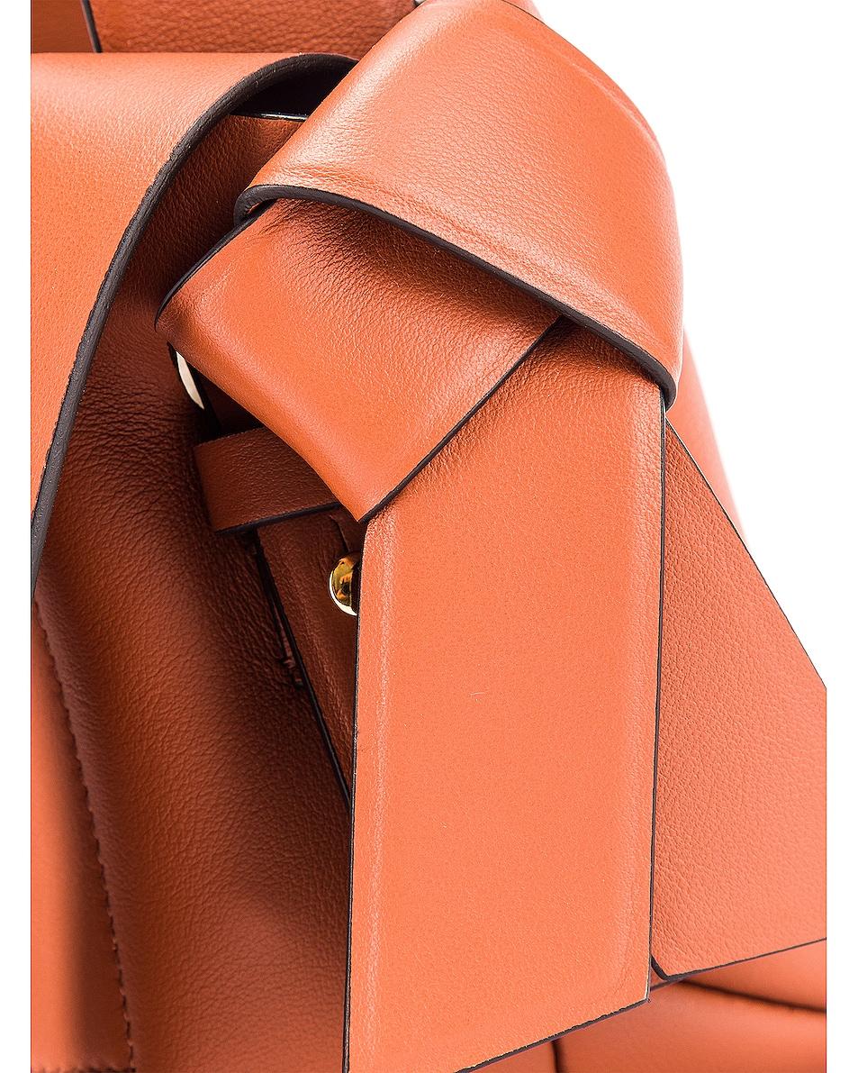Image 8 of Acne Studios Micro Bucket Bag in Almond Brown