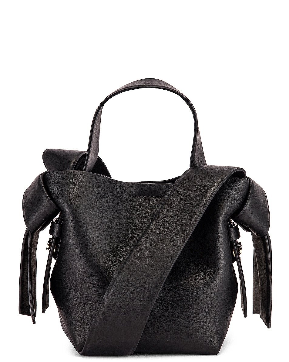Image 1 of Acne Studios Micro Bucket Bag in Black