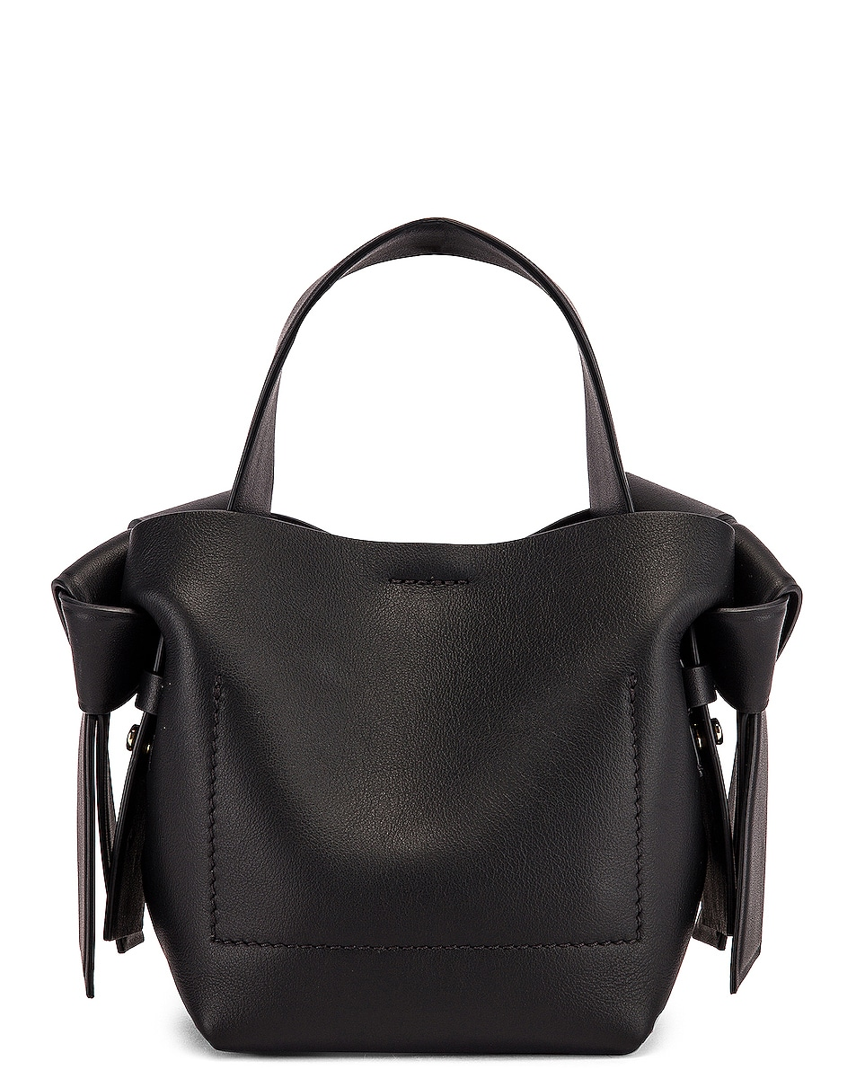 Image 3 of Acne Studios Micro Musubi Bag in Black