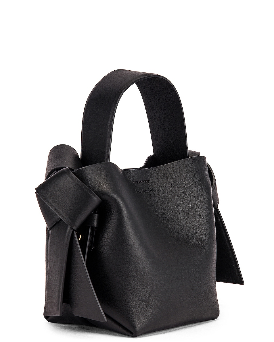 Image 4 of Acne Studios Micro Musubi Bag in Black