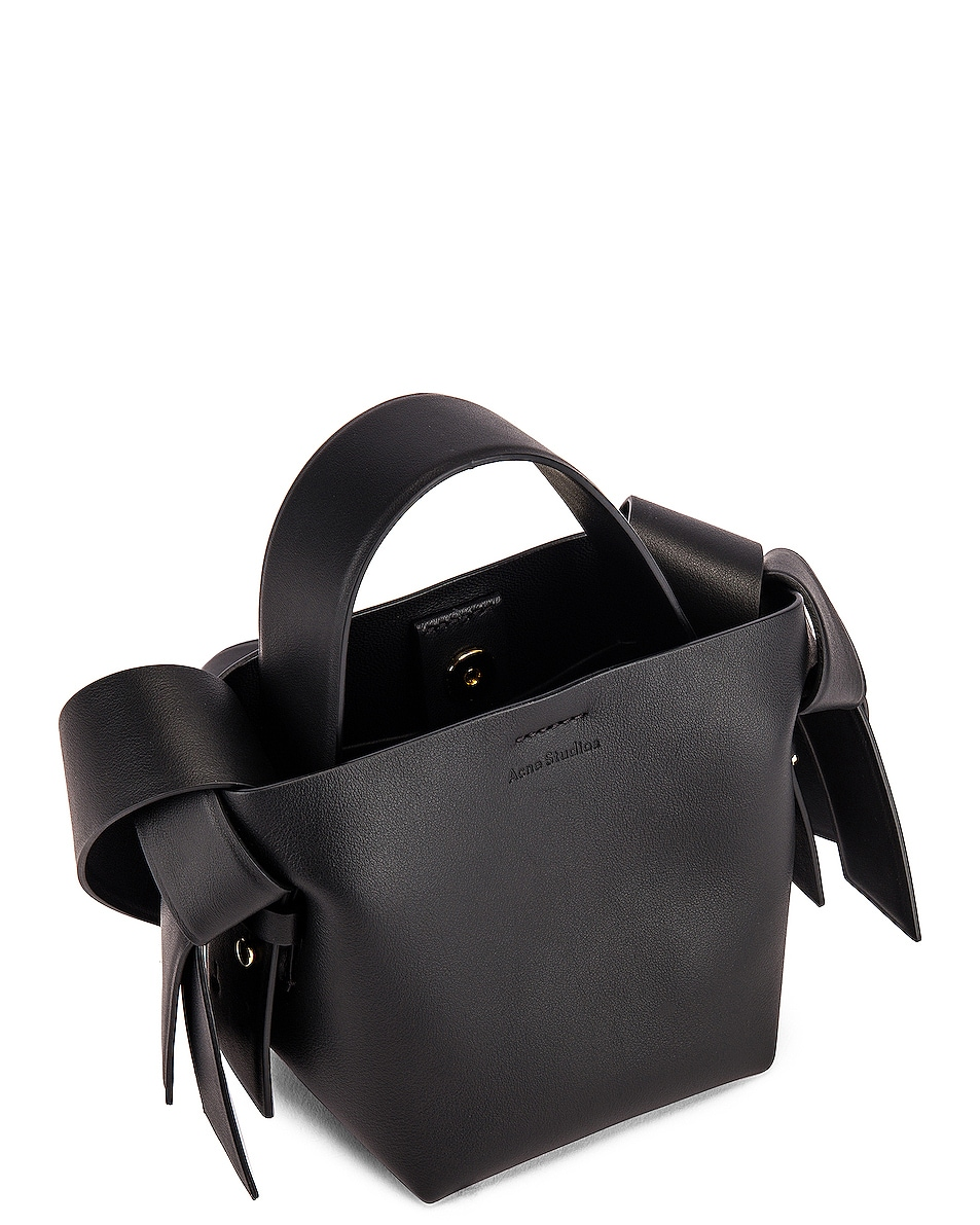 Image 5 of Acne Studios Micro Musubi Bag in Black