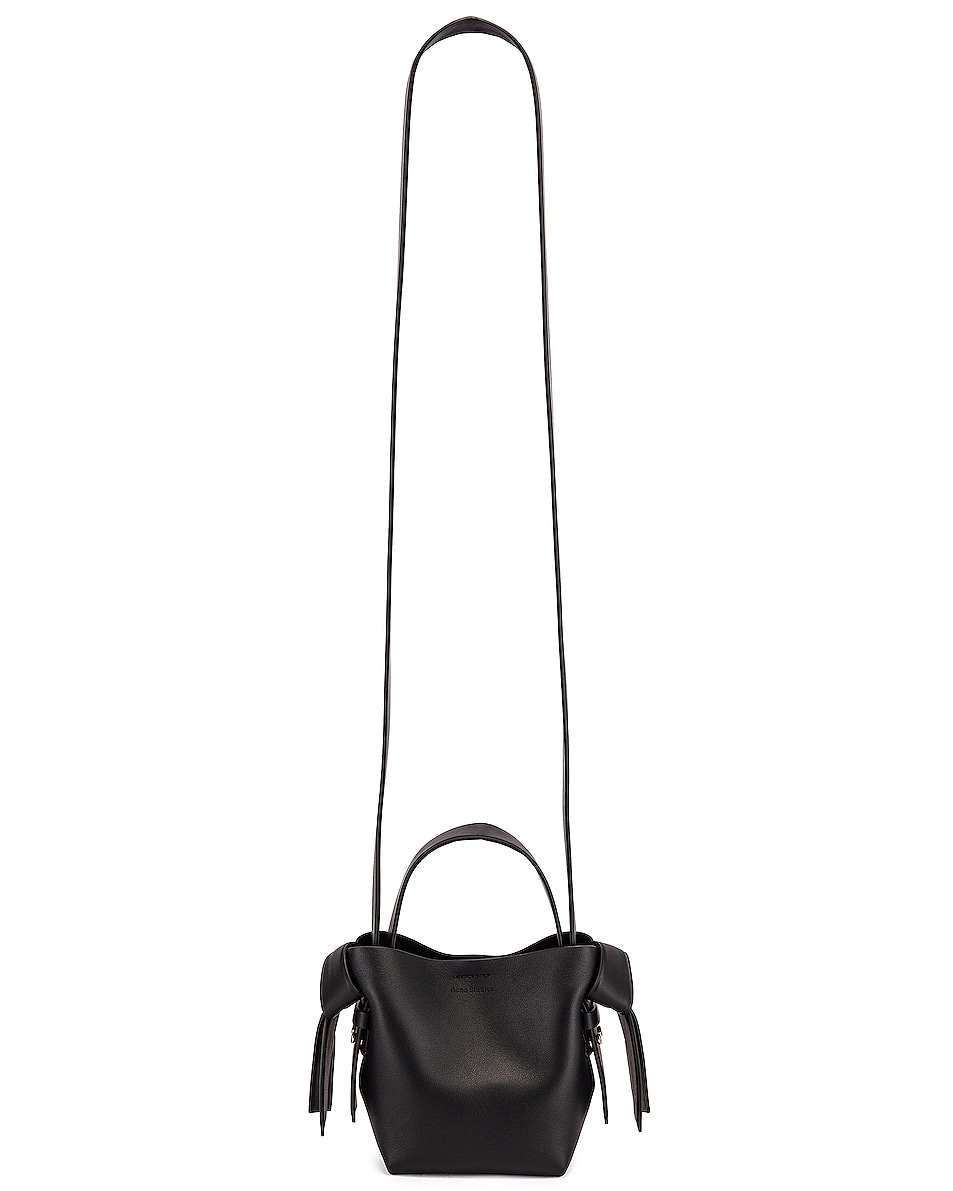 Image 6 of Acne Studios Micro Musubi Bag in Black