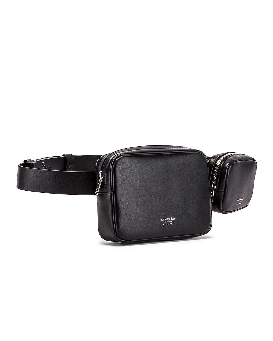 Image 4 of Acne Studios Musubi Belt Pouch Bag in Black