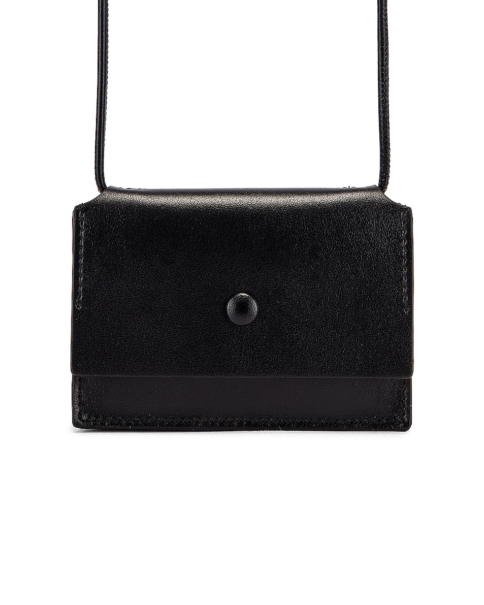 Image 1 of Acne Studios Big Coin Purse in Black