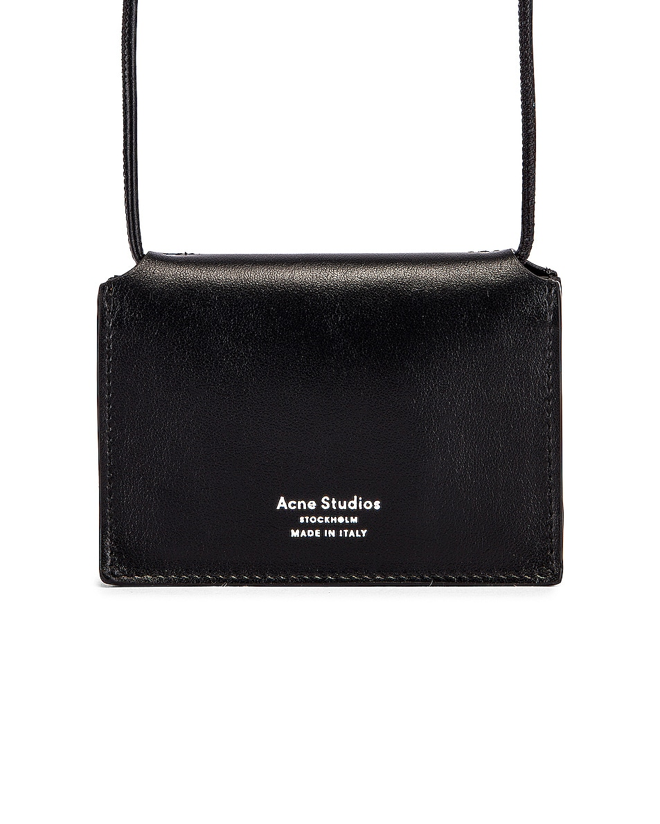 Image 3 of Acne Studios Big Coin Purse in Black