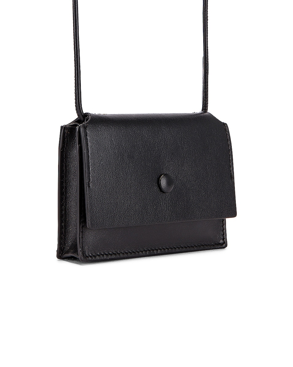 Image 4 of Acne Studios Big Coin Purse in Black