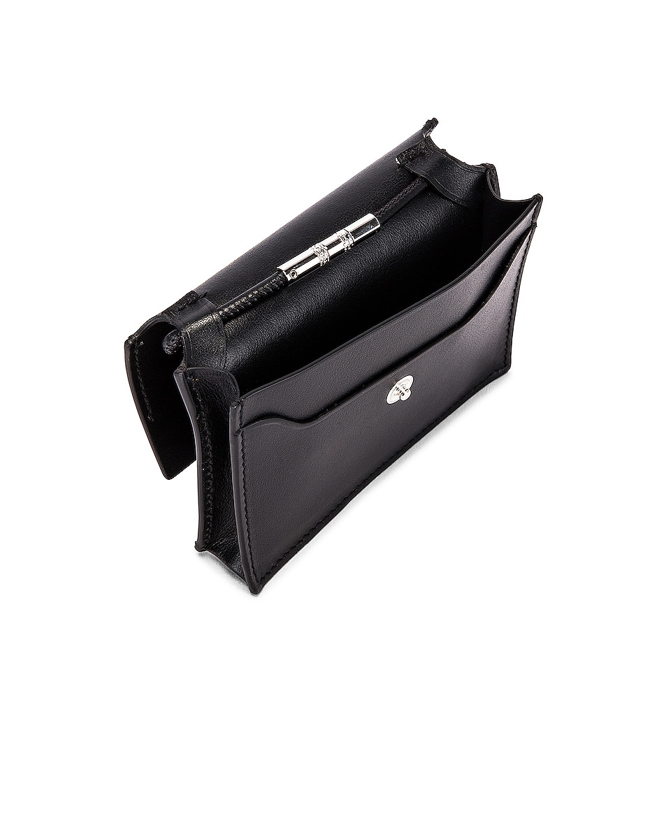 Image 5 of Acne Studios Big Coin Purse in Black