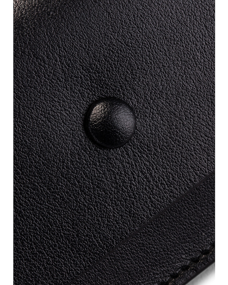 Image 8 of Acne Studios Big Coin Purse in Black