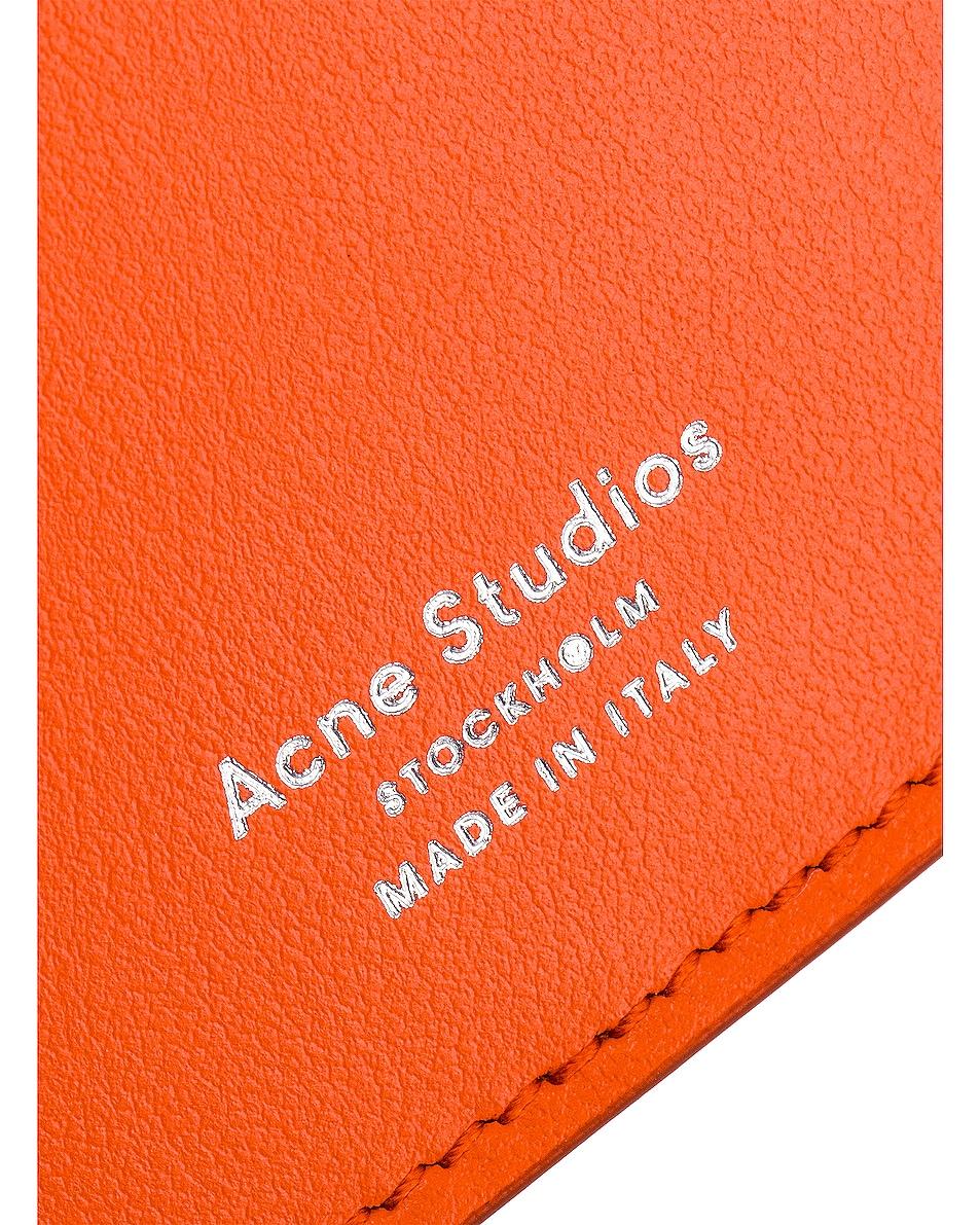 Image 7 of Acne Studios Big Coin Purse in Orange