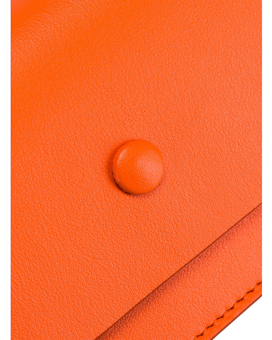 Image 8 of Acne Studios Big Coin Purse in Orange
