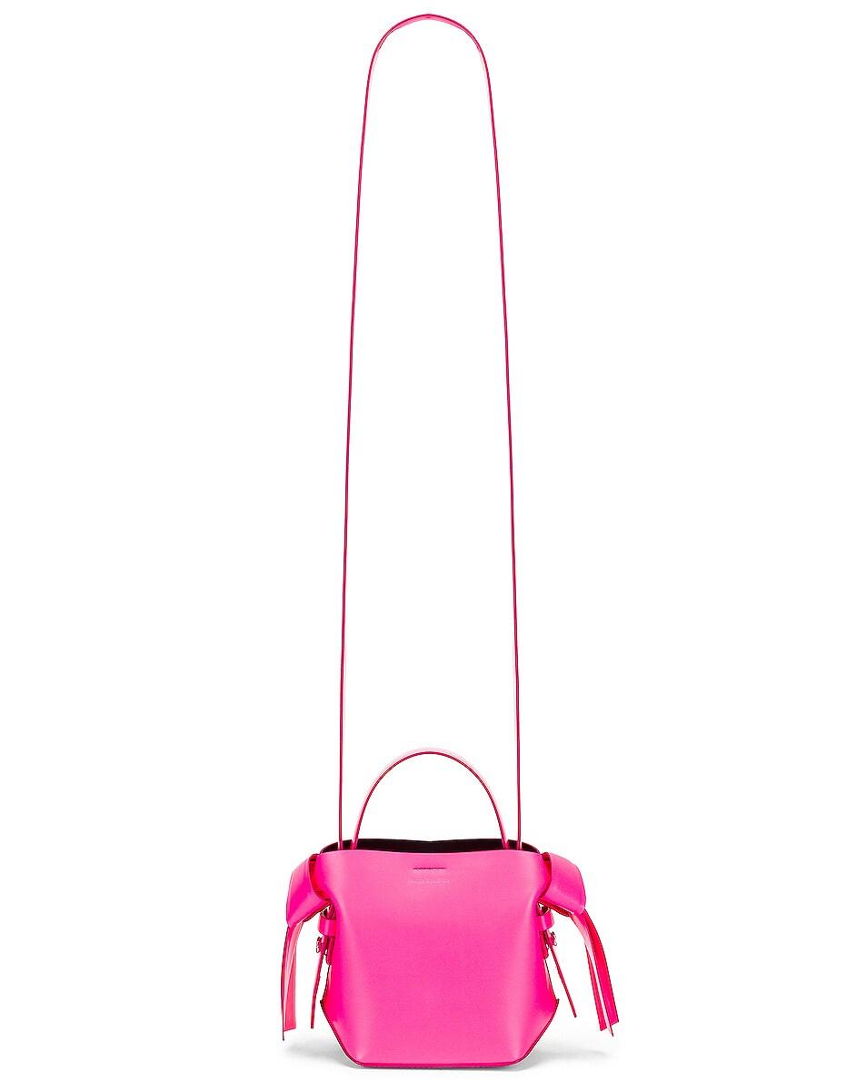 Image 6 of Acne Studios Micro Musubi Bag in Fluo Pink