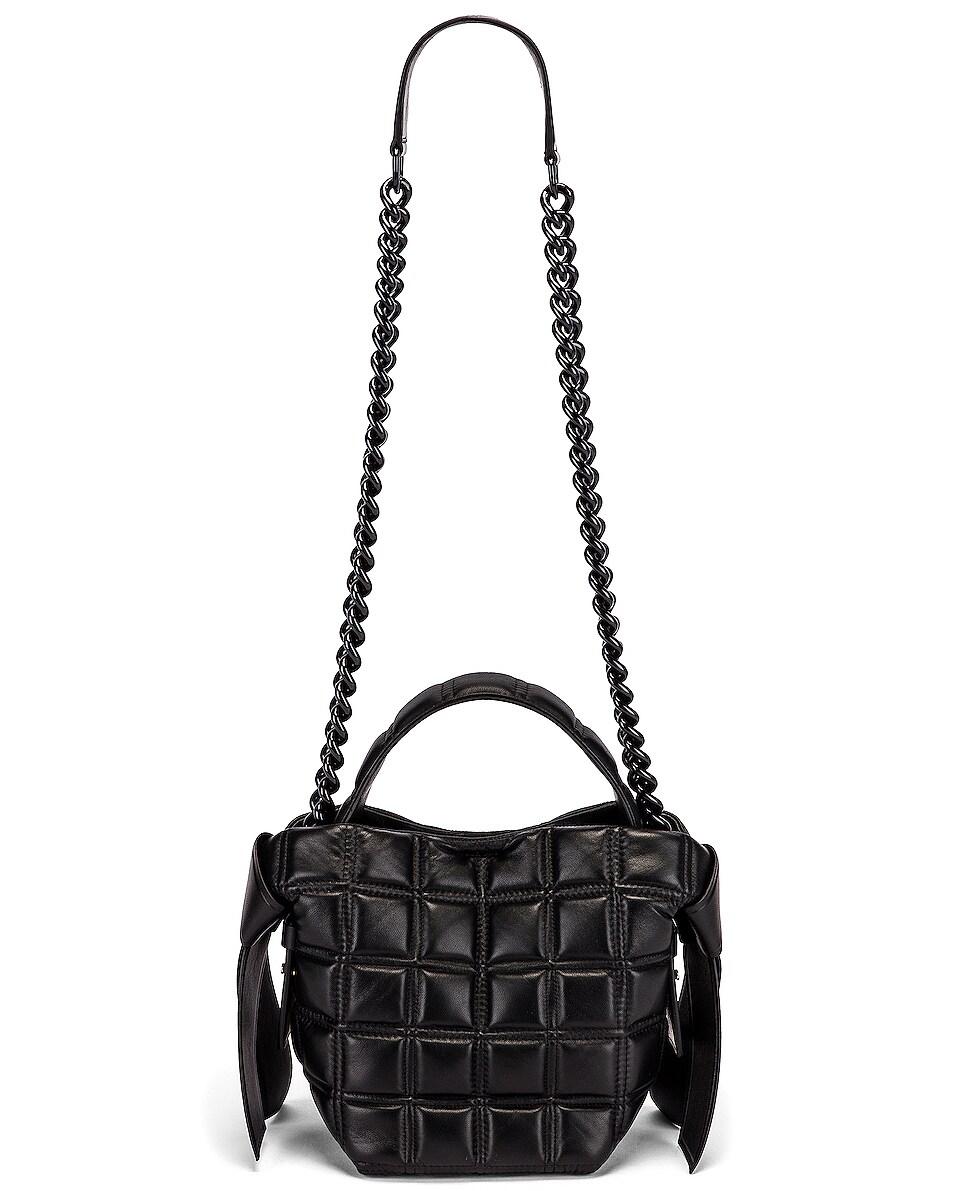 Image 6 of Acne Studios Mini Quilted Musubi Bag in Black