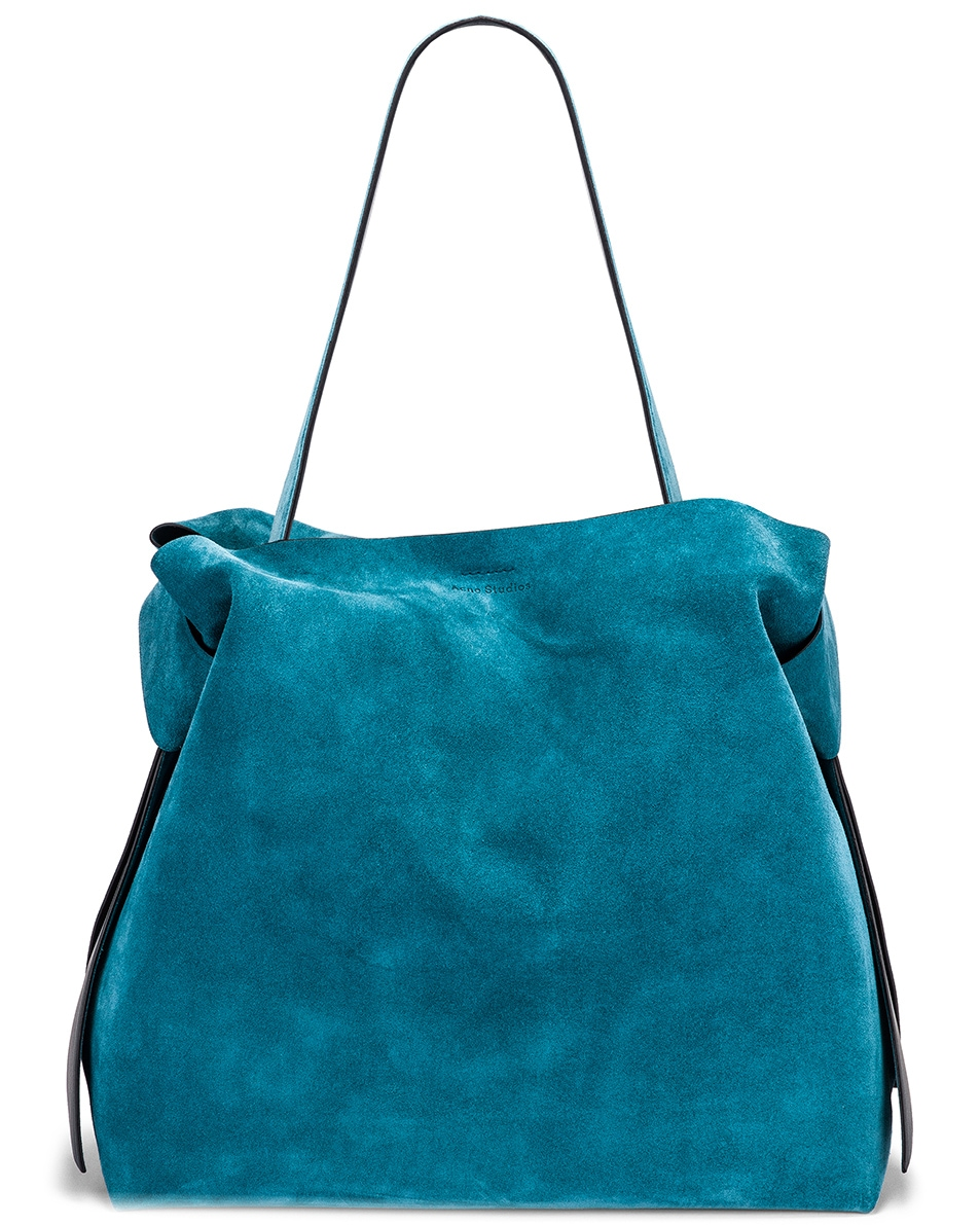 Image 1 of Acne Studios Musubi Maxi Bag in Mineral Blue