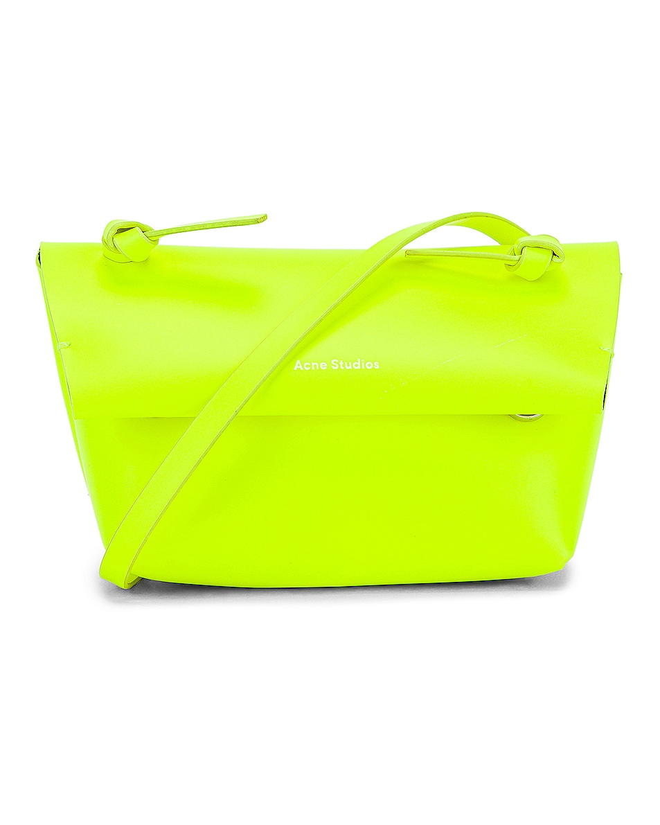 Image 1 of Acne Studios Mini Bag in Fluo Yellow