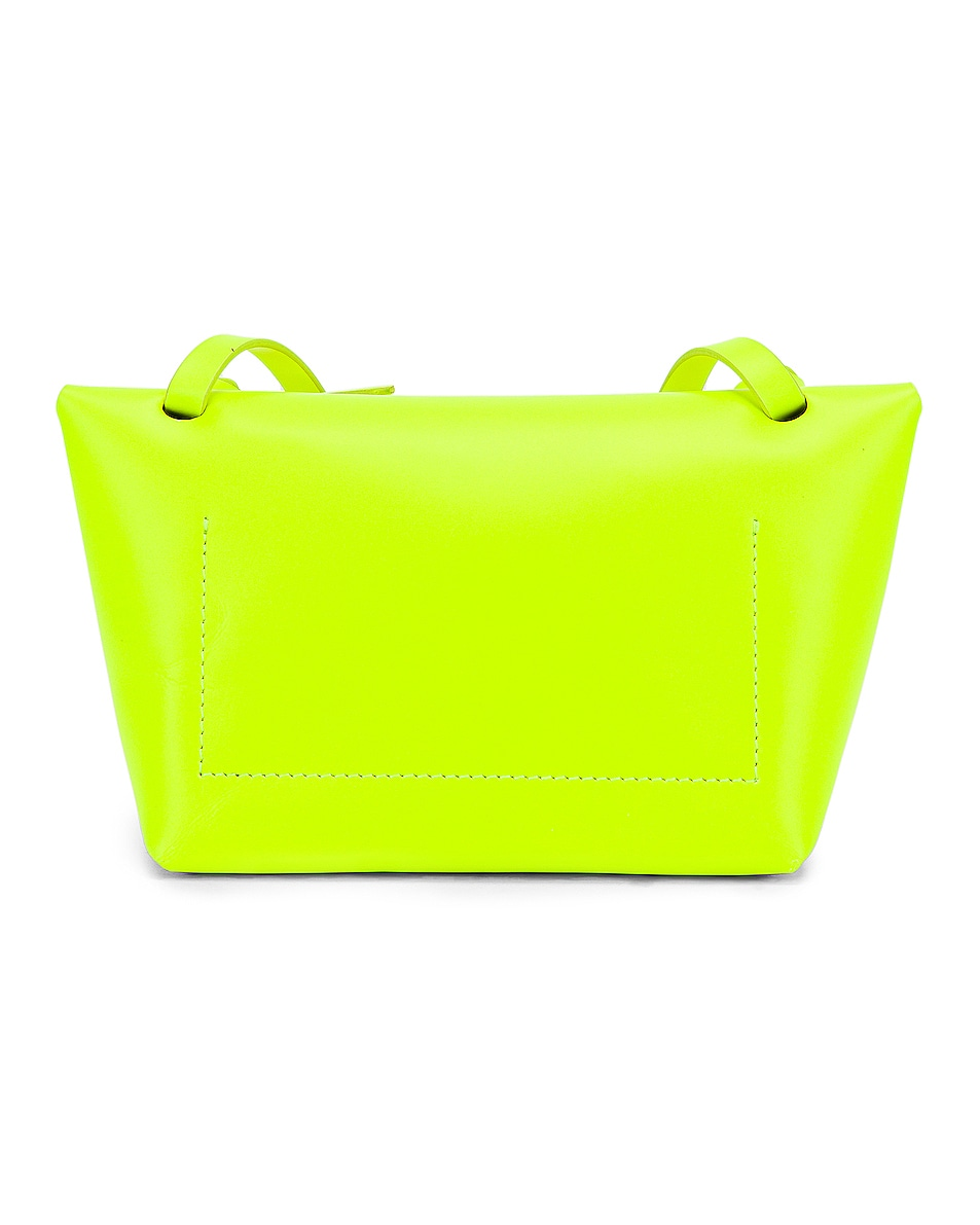 Image 3 of Acne Studios Mini Bag in Fluo Yellow