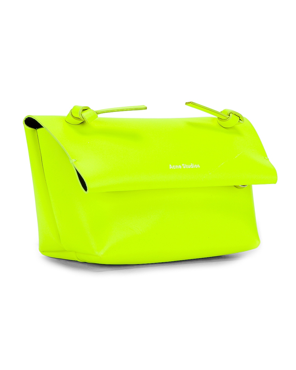 Image 4 of Acne Studios Mini Bag in Fluo Yellow