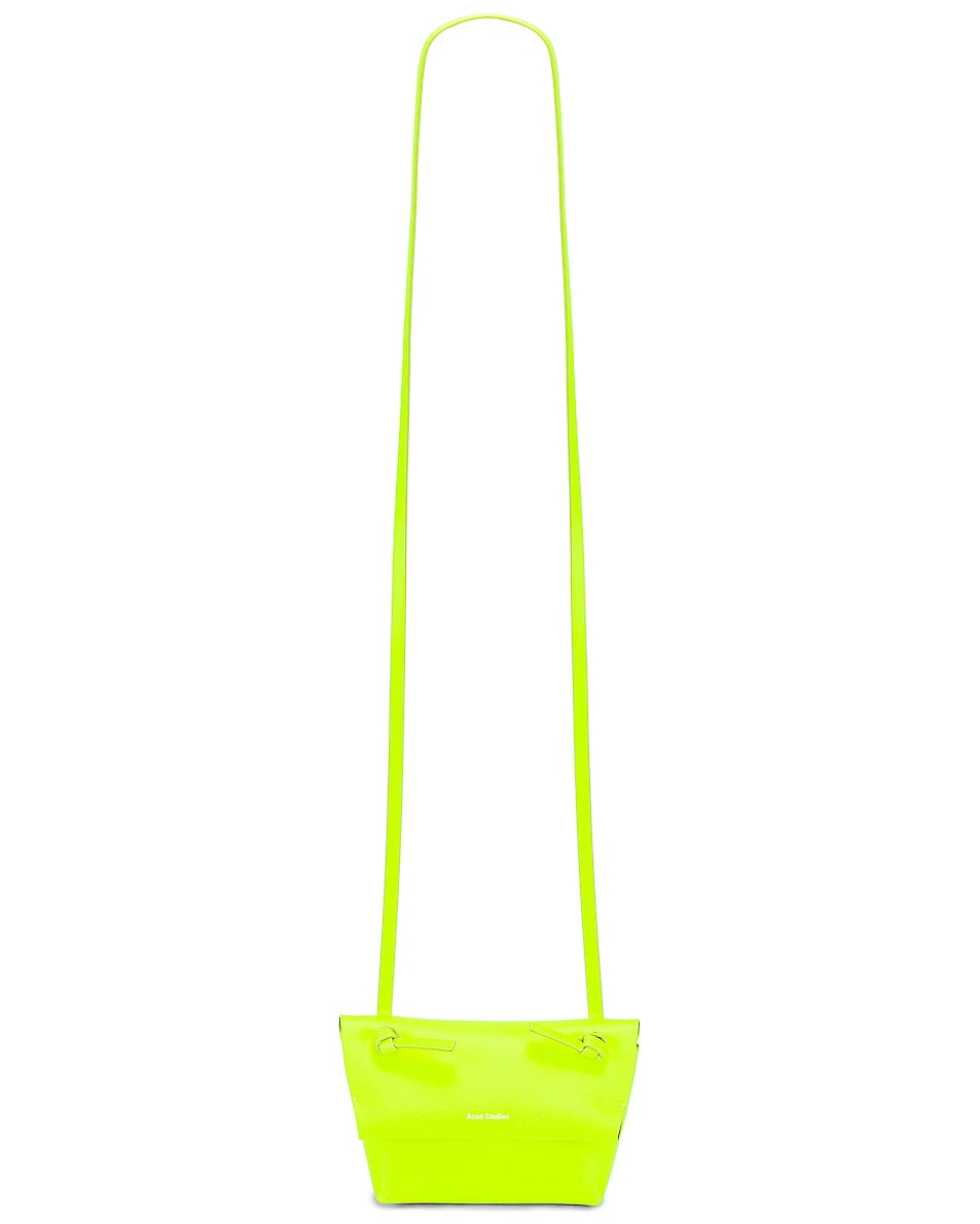Image 6 of Acne Studios Mini Bag in Fluo Yellow