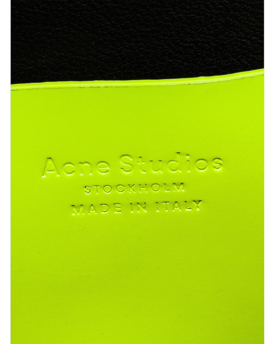 Image 7 of Acne Studios Mini Bag in Fluo Yellow