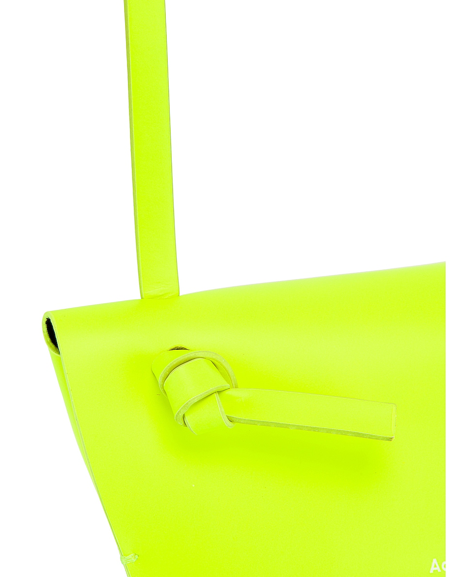 Image 8 of Acne Studios Mini Bag in Fluo Yellow
