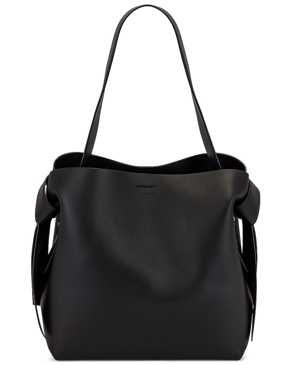 Image 1 of Acne Studios Mini Bucket Bag in Black