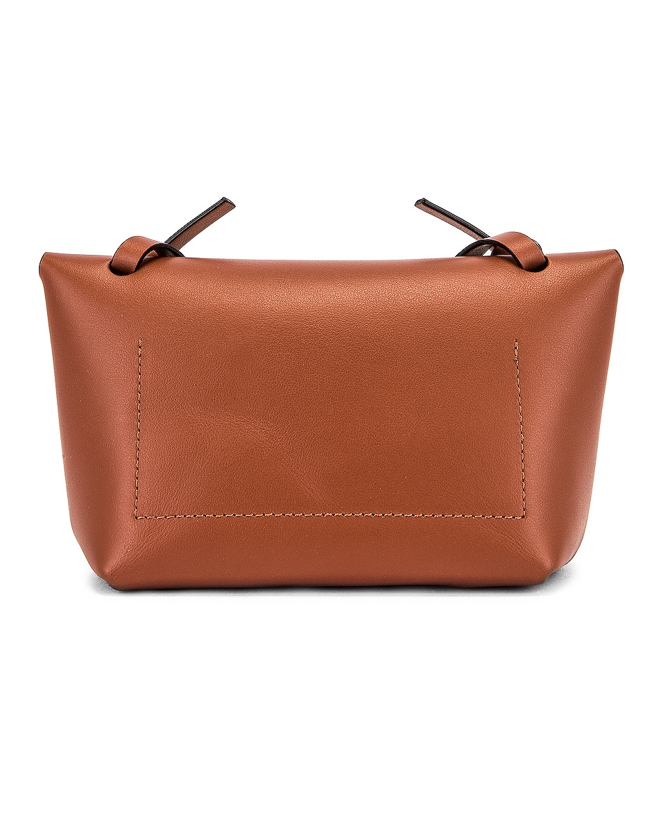 Image 3 of Acne Studios Mini Bag in Almond Brown